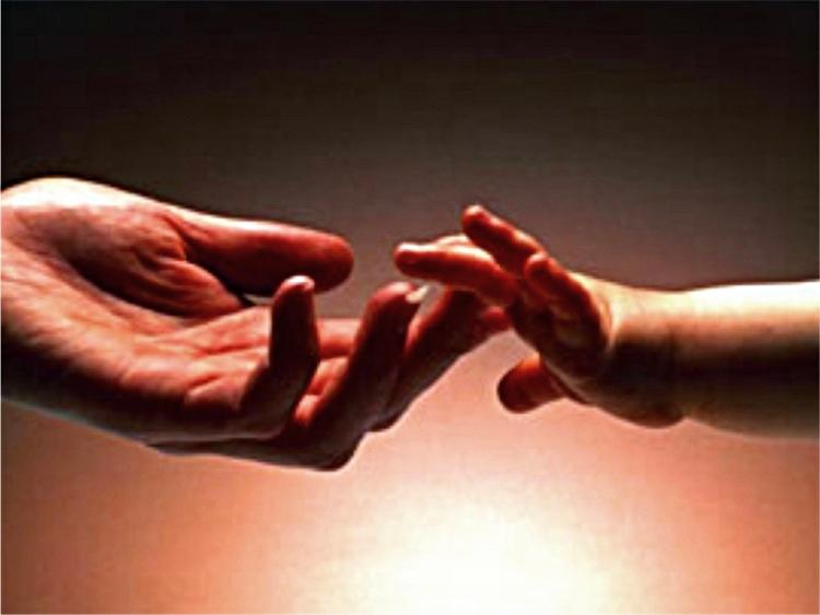 Il contatto, un bisogno primario del neonato